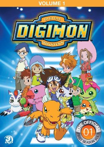 Digimon Adventure 1 (3 Dvd) [Edizione: Stati Uniti]