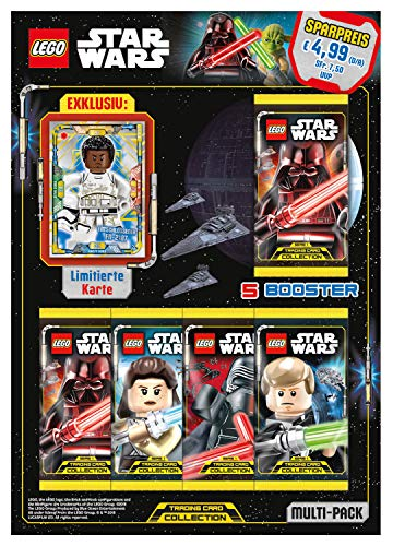 Top Media 180248 Lego Star Wars Cartas coleccionables, Multi Pack, Multicolor