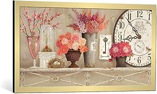 Kunst für Alle Image encadrée: Kathryn White Blossom Time - Impression d'art décorative, en Cadre de Haute qualité, 100x50...