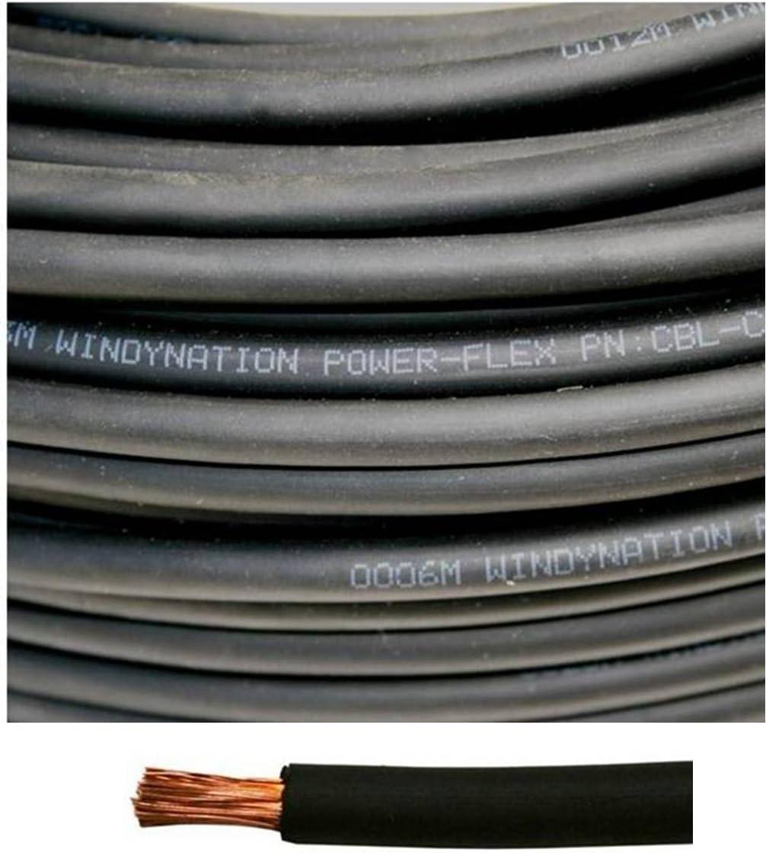 8 Max 79% OFF Ranking TOP8 Gauge AWG 5 Feet Black Copper Pure Welding Flexible Battery