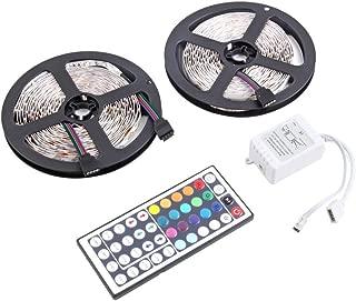 5M / cada uno Professinal 600 LEDS 3528 SMD RGB Tiempo de servicio prolongado LED Súper brillo Tira de luz flexible DC 12V (RGB) Jasnyfall