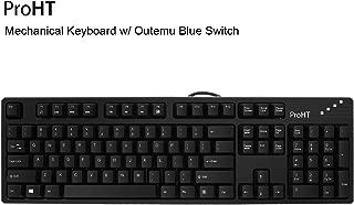 Inland 104 Keys Mechanical Keyboard with Blue Switch (70012)