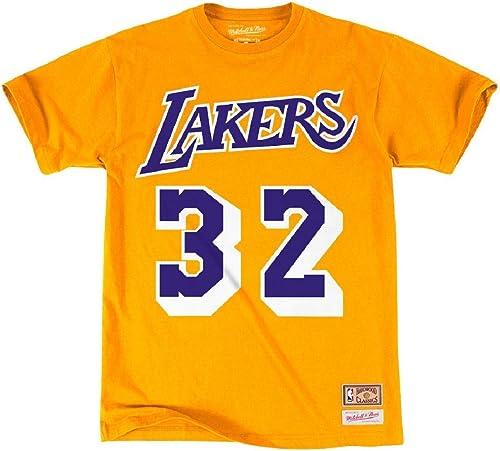 Mitchell & Ness LA Lakers Magic Johnson T-Shirt