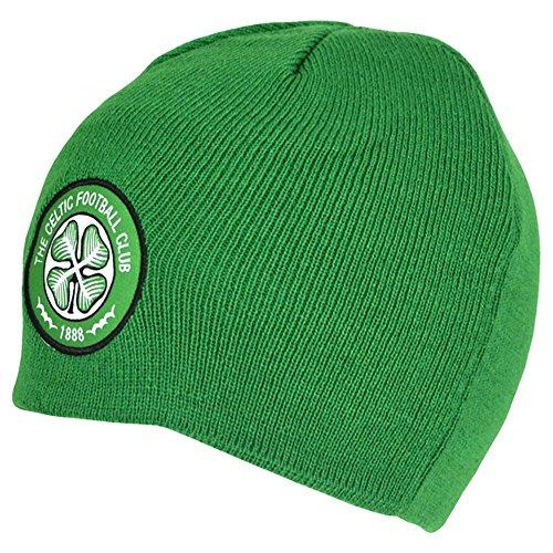 Celtic FC - Bonnet Officiel - Homme (Taille Unique) (Vert)