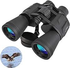 Flybiz Prismáticos, Telescopio Binocular Plegable Compacto 20 * 50, Revestimiento FMC y Clase de Prisma BAK-4, Resistente al Agua y A Prueba de Niebla, ppara Observación de Aves, Conciertos