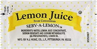 Lemon Juice Packets, 4 Gram -- 200 per case