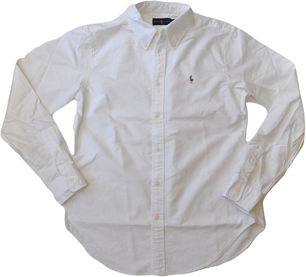 Polo Ralph Lauren Womens Classic Fit Oxford Button Down Shirt
