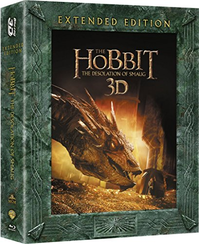 The Hobbit: The Desolation Of Smaug [Extended Edition] [Blu-ray 3D] [2013] [2014] [Region Free]