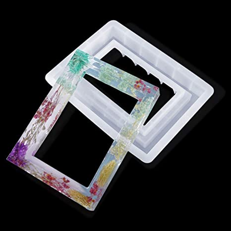 Frame rectangulaireen resin to decorate