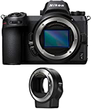 Nikon Z6 Mirrorless Digital Camera with Nikon FTZ Mount Adapter Bundle (2 Items)