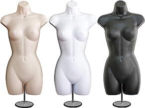 Made by OM Set of 2 Male Hook Hanging Mannequin Flesh 158F