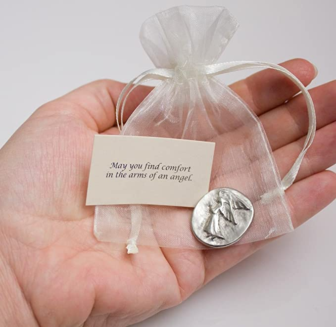 zzF Good for 1 favor spirit HANDCRAFTED PEWTER POCKET TOKEN CHARM basic coin