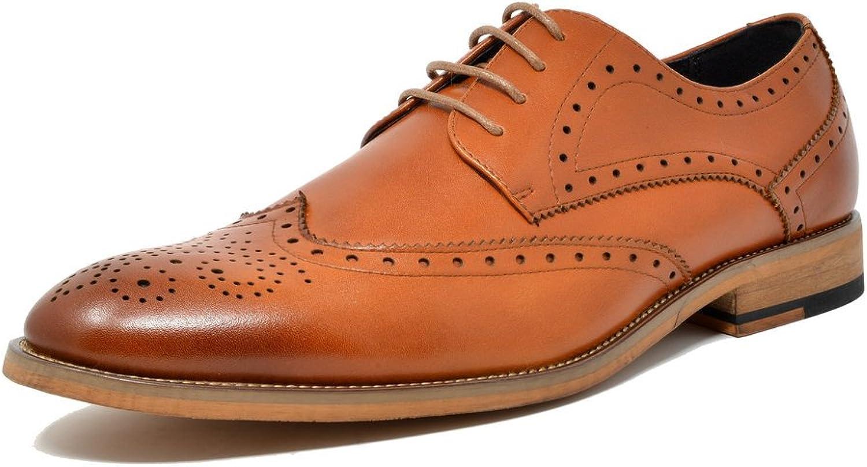 Bruno Marc Men's Waltz Leather Dress Oxfords shoes