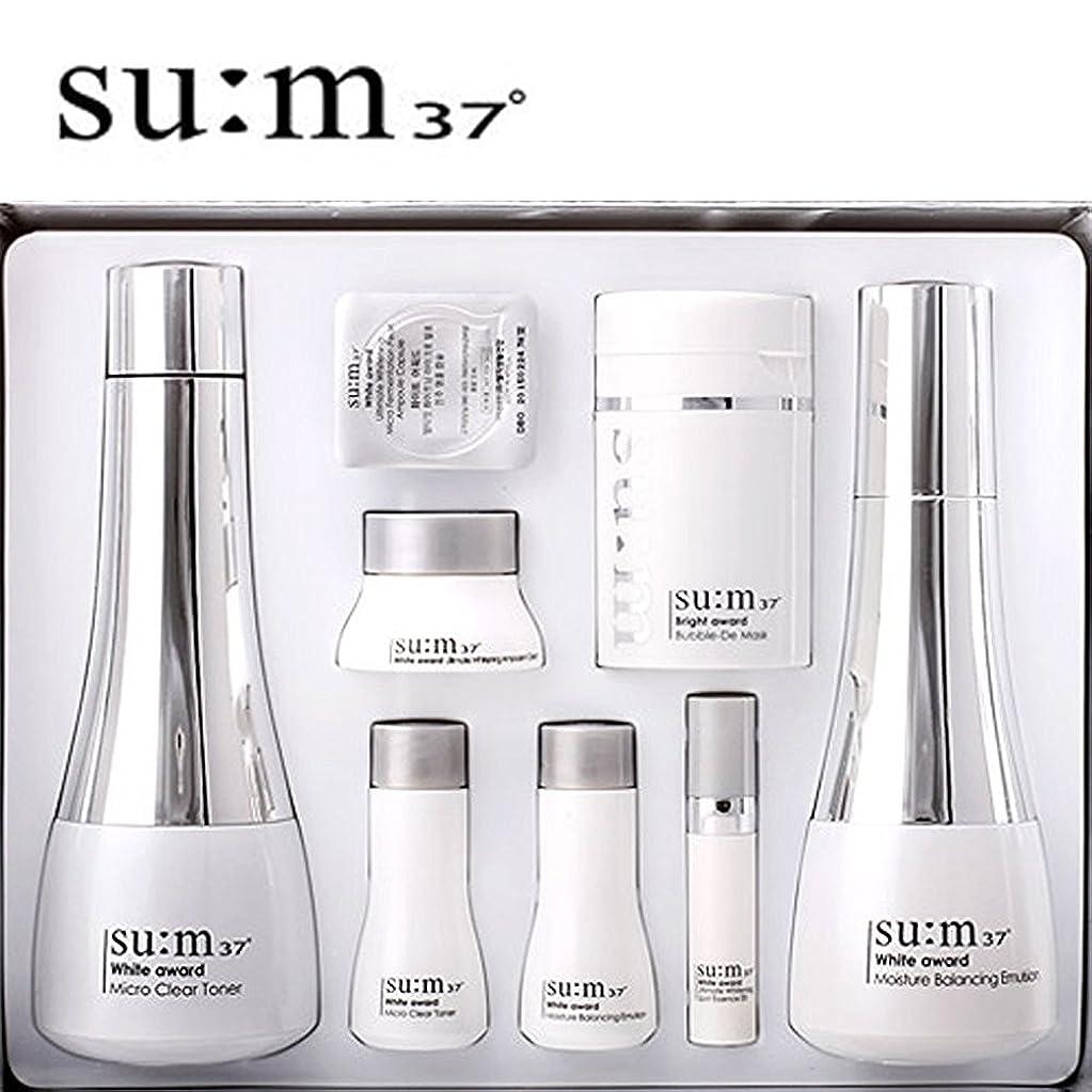 打撃罪人ウェーハ[su:m37/スム37°] SUM37 White Awards 2pcs Special Set/ホワイトアワード 2種 スペシャルセット+[Sample Gift](海外直送品)