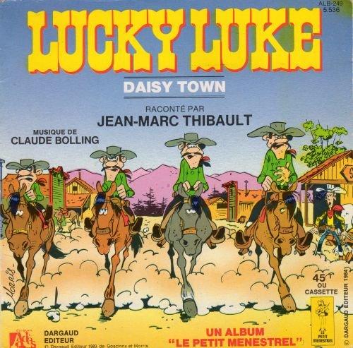 Morris - Adès/Le Petit Ménestrel ALB-249 - Lucky Luke - Daisy Town - livre-disque format 45 tours - Livret seul