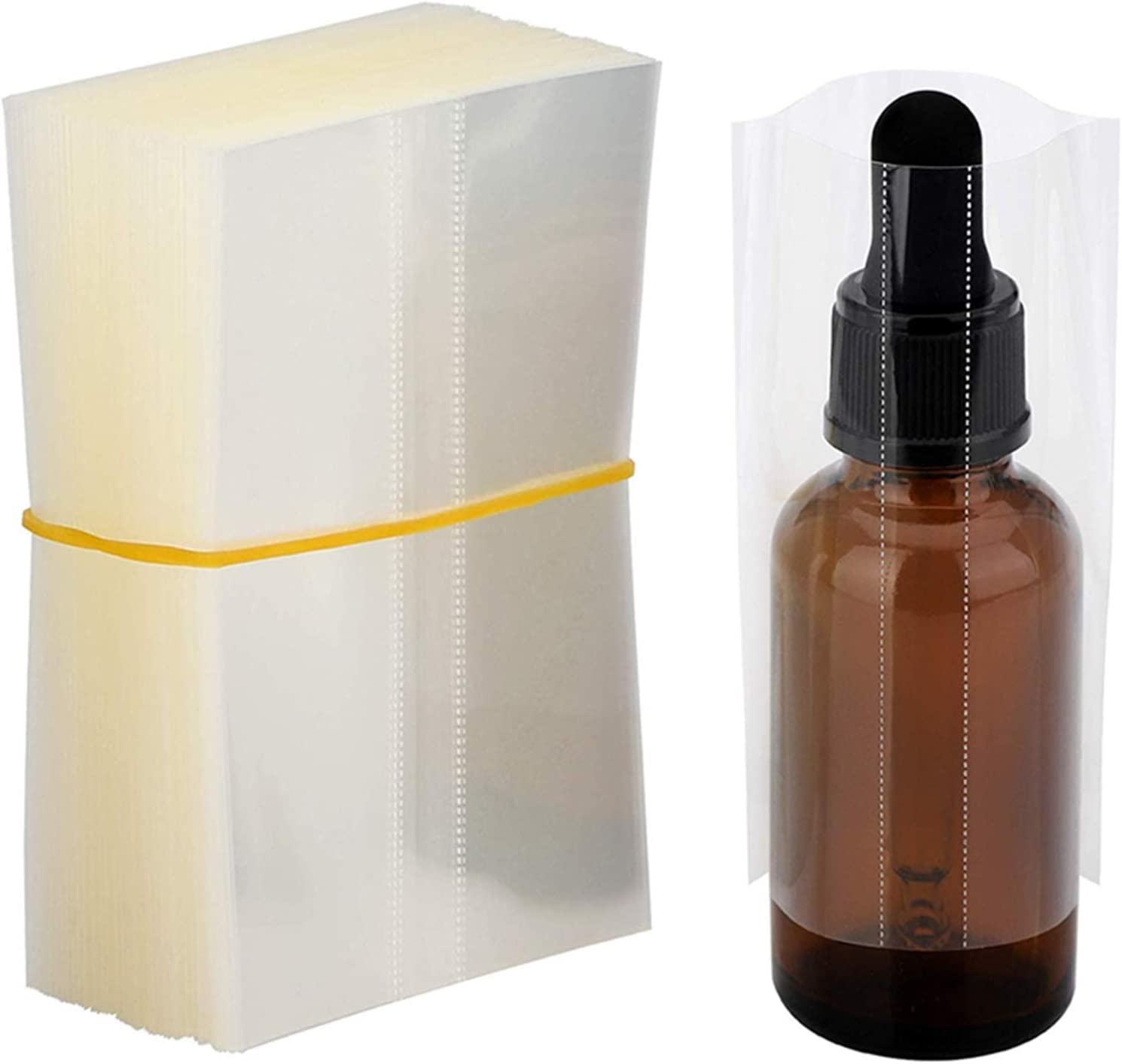 XMEIFEI PARTS Heat Shrink Wrap Film Glass Bottle 30ml for E New Challenge the lowest price arrival 50ml