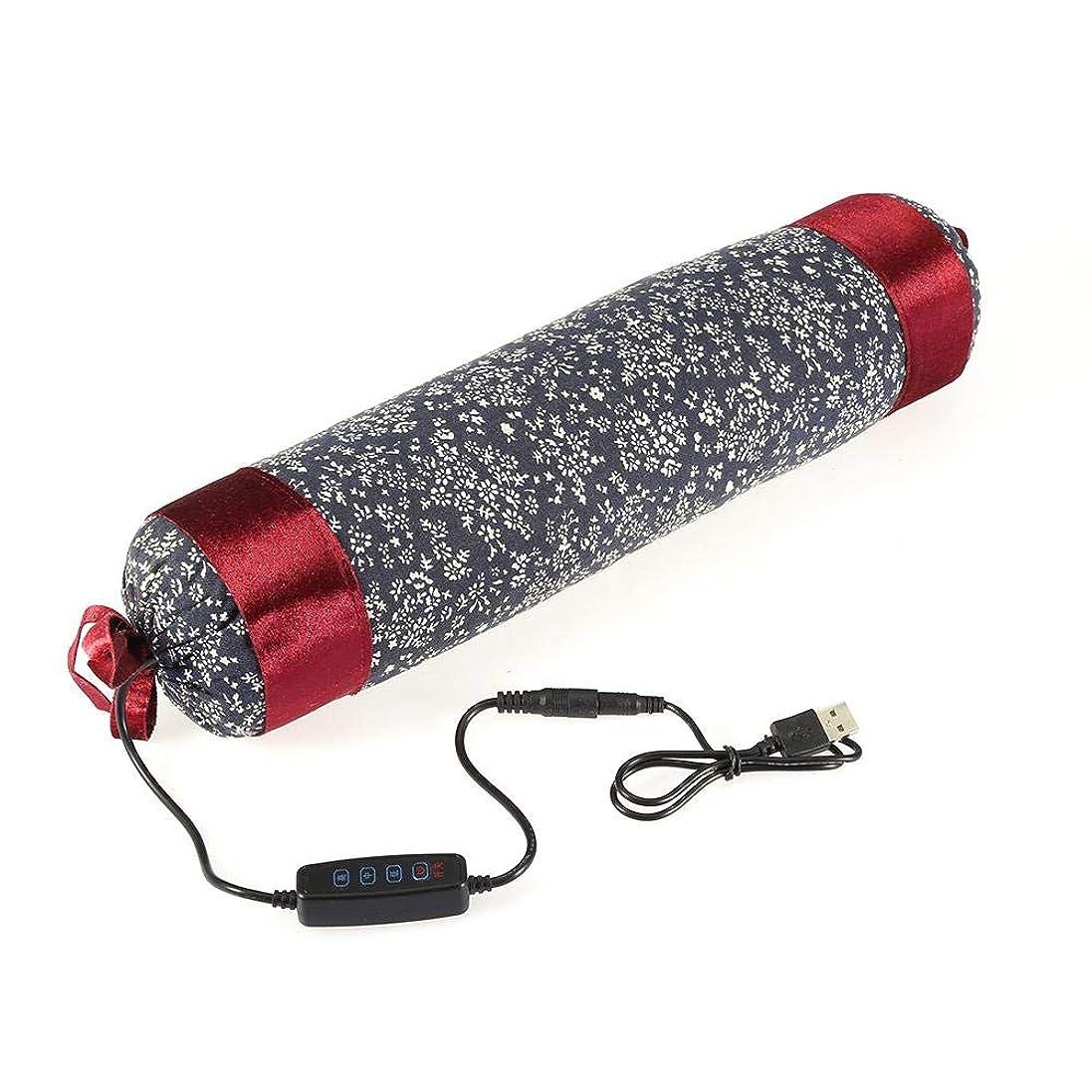 パケット欺放射する首頸部電気枕加熱家庭用肩マッサージ痛み疲労のための枕加熱灸