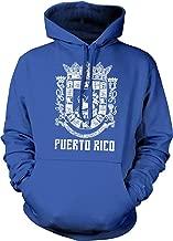 Puerto Rico, Coat of Arms, Spanish Crown, Lamb of God, St. John Hooded Sweatshirt.