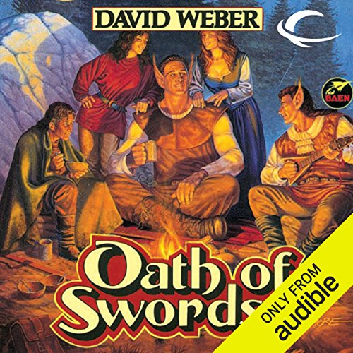 Oath of Swords     War God, Book 1              Written by:                                                                                                                                 David Weber                               Narrated by:                                                                                                                                 Nick Sullivan                      Length: 14 hrs and 49 mins     8 ratings     Overall 4.5