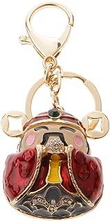 Prettyia Charm Pendant Key Ring Keychain Purse Bag Hanging Accessories God Of Wealth