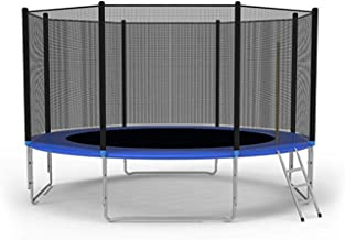 LONABR 12-Foot Trampoline Combo Bounce Jump Trampoline with Safety Enclosure Net and Spring Pad