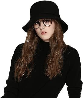 Female Style hat Wool Felt Bucket Hat Winter Fall