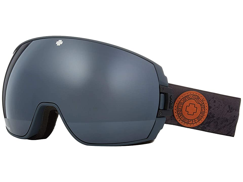 Spy Optic Legacy (Spy+Danny Larsen Happy Gray Green w/ Silver Spectra+Happy Yellow) Snow Goggles