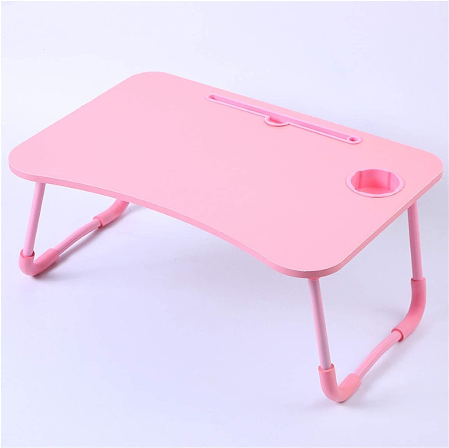 store JUNMIN Laptop Desk Foldable Rare Bed Table Stan Notebook Tray