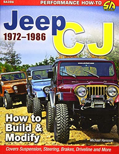 Jeep CJ 1972 1986 How to Build Modify Performance How to product image