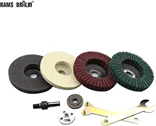 Aluminum 300x25x16mm Copper 12inch Wool Felt Polishing Grinding Wheel Disc Pad used in Fine Polishing of Stainless Steel