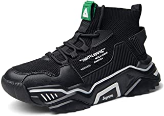 SANNAX Uomo Scarpe Moda Scarpe Alte Sportive Casuale Sneakers
