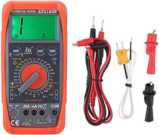 Akozon Tachometer Meter AT2150B Handheld Automotive Tachometer Meter/LCD Display Digital Multimeter