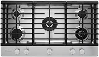 kitchenaid gas cooktop kcgs556ess