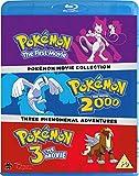 Pokemon Movie 1-3 Collection [Blu-ray] [Reino Unido]