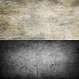 AOSTO Ins Fotos Fondo impermeable – Ideal para juguetes, alimentos, manicura, fotografía de mesa, textura de pared de hormigón marrón y negro, 83 x 55 cm, DP-209