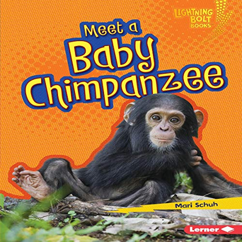 『Meet a Baby Chimpanzee』のカバーアート