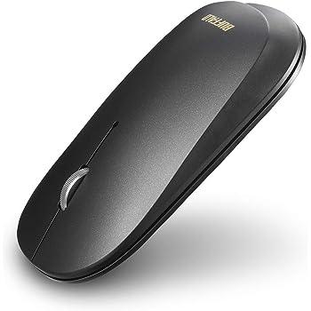 BUFFALO 薄型 3ボタン 無線 静音 BlueLED ワイヤレスマウス FLEXUS ノーマル ブラック BSMBW335NBK