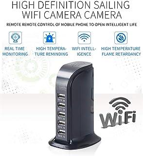 Balscw-J Cámara Oculta WiFi-cámara espía USB Cargador de Pared inalámbrico-HD 1080P, Vista remota de la aplicación, detecc...