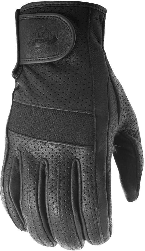 HIGHWAY 21 Jab Perforated Men's Street Motorcycle Gloves