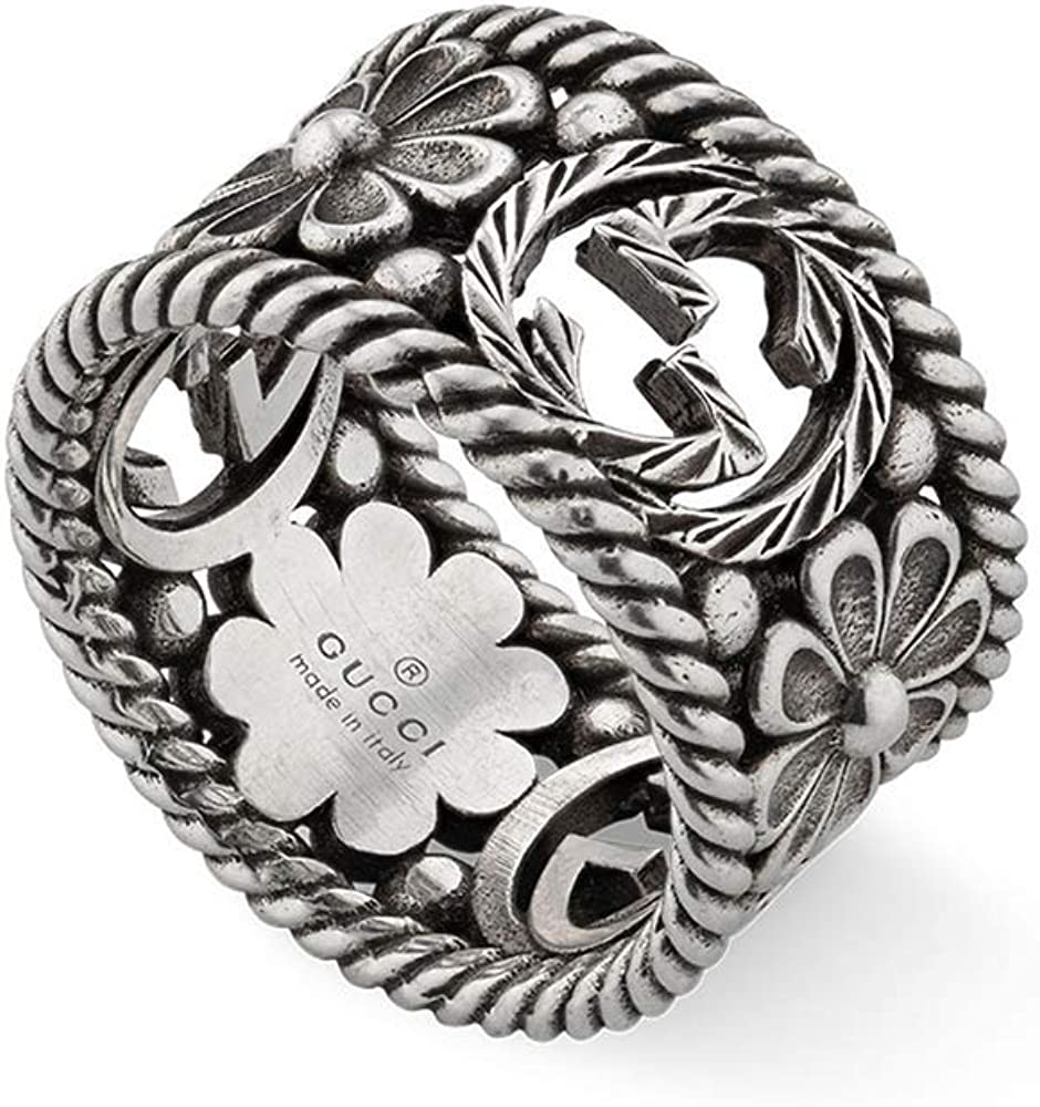 Gucci anello argento YBC577272001013