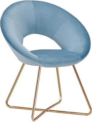 Amazon.com: Krei hejmo sillones en tela de madera kloŝo ...