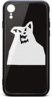 iPhone xr Cover Case Russ-Album-There's-a-Really-Wolf- Shockproof Tempered Glass Back Cover Soft TPU Bumper Shell for iPhone xr