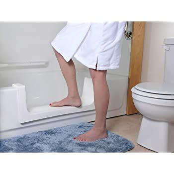 Cleancut Step Bathtub Accessibility Kit Convert Existing Tub To Step In Shower Beige Size Large Amazon Com