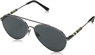 Burberry Aviator Sunglasses For Women, Grey - BE3092Q 10038757