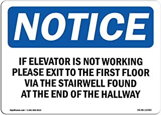 Best elevator not working sign Reviews