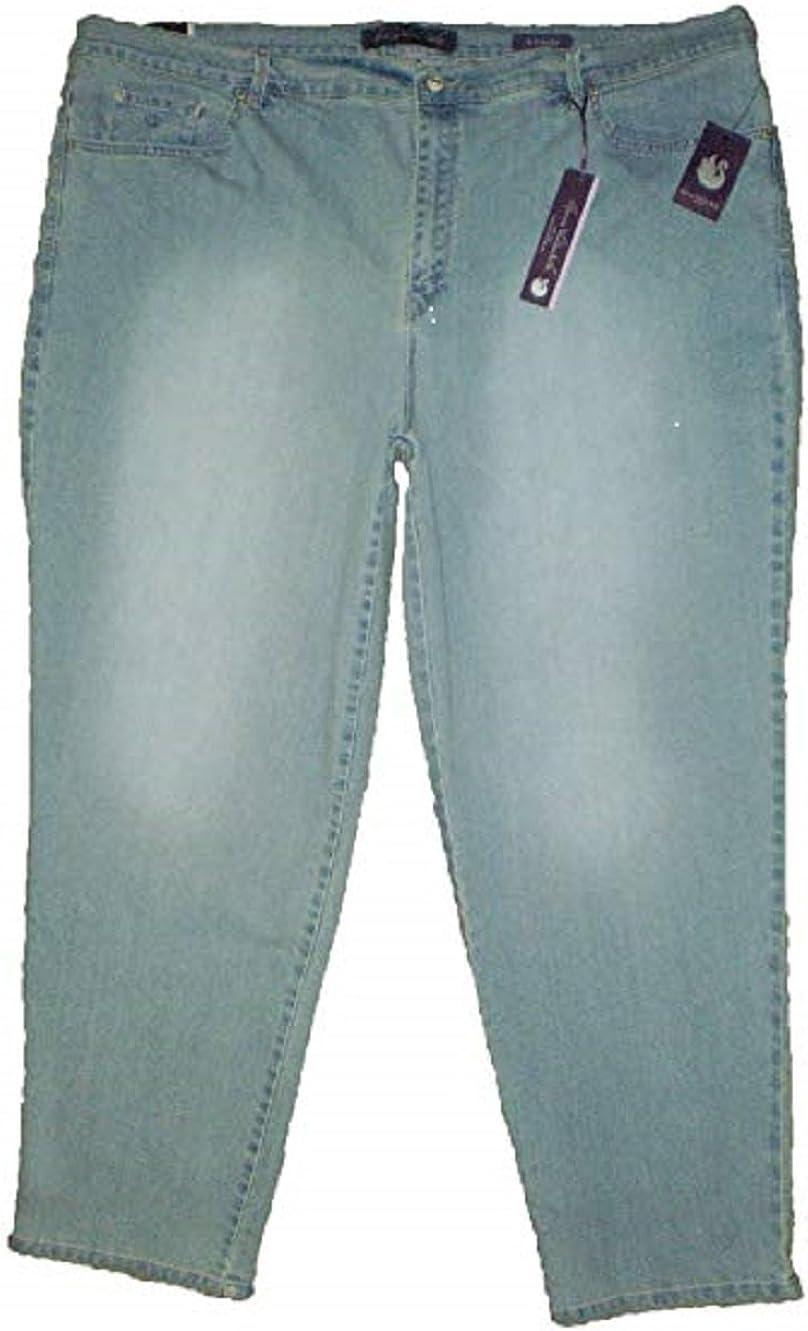 Gloria Vanderbilt Amanda Heritage Fit Granada Blue Denim Jeans New