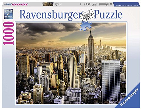 Ravensburger- Maestosa New York Puzzle, Multicolore, 1000 Pezzi, 19712