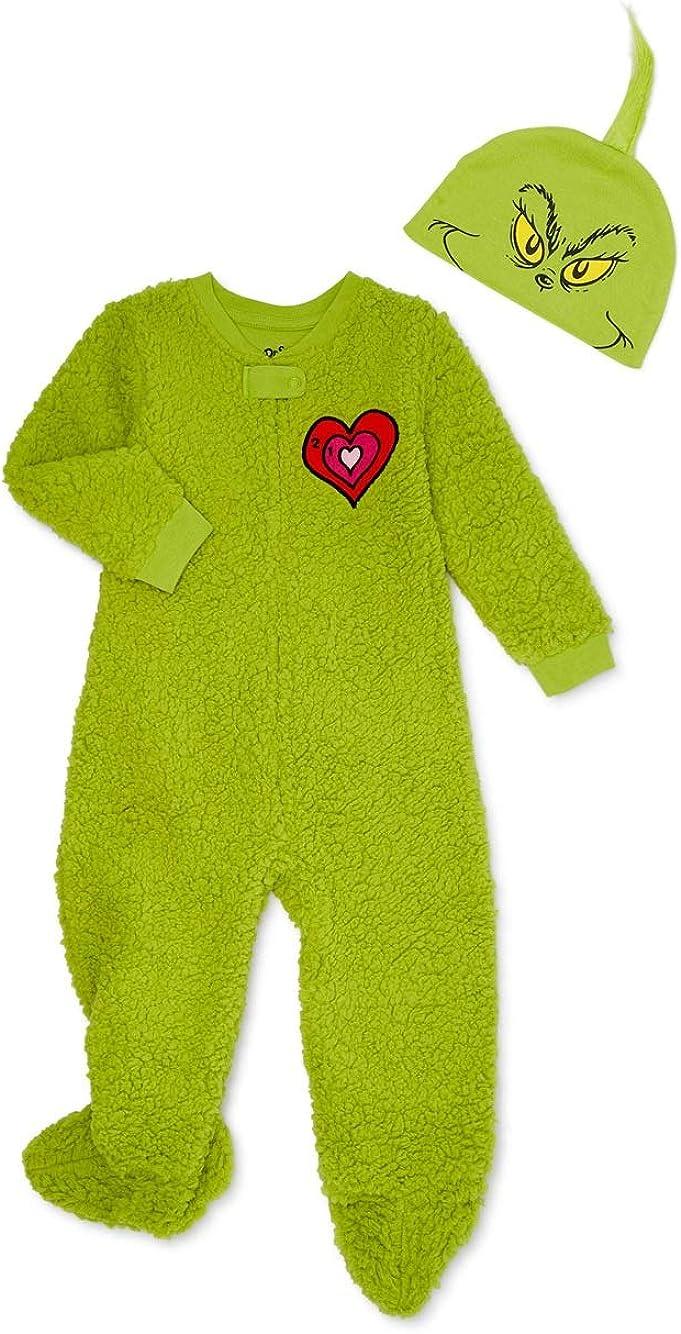 Kansas City Mall Tucson Mall Matching Family Christmas Pajamas Toddler Baby Unisex Sle Grinch