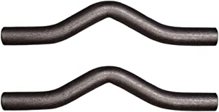 """Two (2) Weld-on Trailer Safety Chain Connection Loops 3/8"""" Steel"""