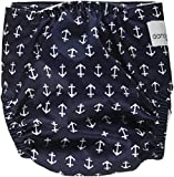 Dandelion Diapers Cover Shell with Snaps, Nautical Anchors, One Size